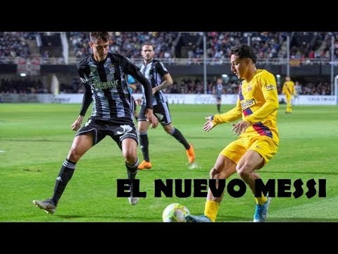 Debut de Kike Saveiro en el FC Barcelona | 4K ECUATORIANO