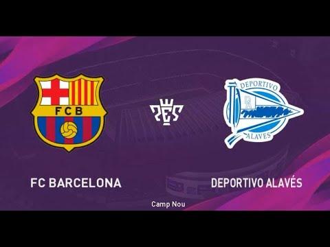 Barcelona vs Alaves La Liga 21 December 2019 Gameplay