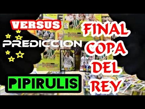FINAL COPA DEL REY ALAVES VS BARCELONA | UNBOXING ADRENALYN 2017 | PIPIRULIS