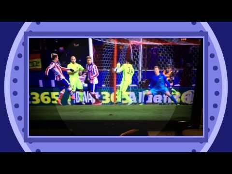 Referee fail penalty , Jordi Alba play with hand – Atletico Madrid vs Barcelona 28/01/2015