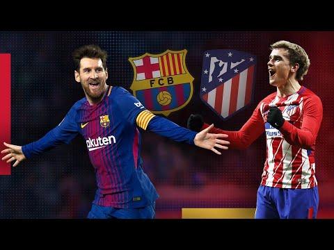 Atlético Madrid Vs FC Barcelona Laliga Matchday 13 Gameplay