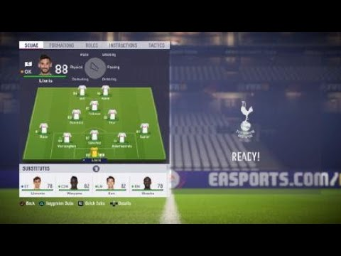 FIFA 18 (Tottenham Hotspur) Spurs review – Best formation, Best tactics and instructions