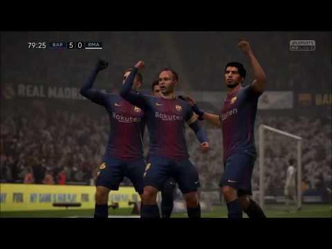 FIFA 18 – Custom Tactics – Play Like Pep Guardiolas Barcelona (With Gameplay)