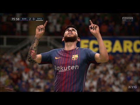 FIFA 18 – FC Barcelona vs Real Madrid CF – Gameplay (HD) [1080p60FPS]