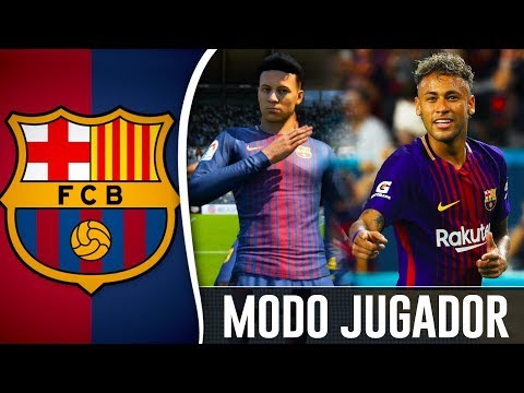 KEVININHO JR FICHA POR EL BARÇA ¡¡NUEVO NEYMAR!! | FIFA 18 Modo Carrera ''Jugador'' FC Barcelona #23