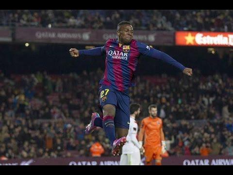 Adama Traore individual highlights | Barcelona vs Huesca [8-1] | 2014 HD