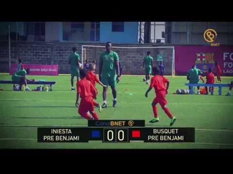 Team Iniesta vs Team Busquets (Pre Benjami) 14th April 2018