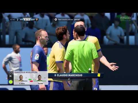 Fifa18 – FC Barcelona & FC Bayern Munchen 15 april 2018