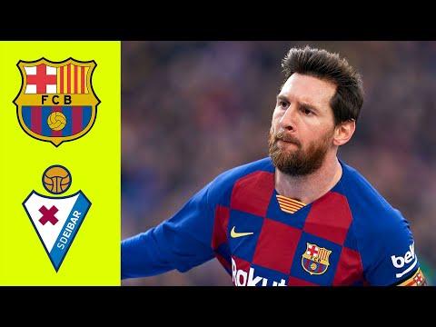 MESSI SHOW! Barcelona vs Eibar 5-0 Highlights All Goals (Resumen)