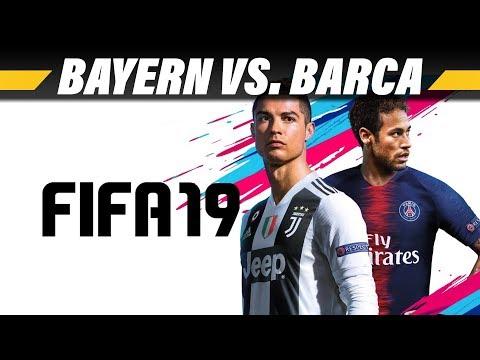 FIFA 19 | Bayern München vs. FC Barcelona | Gamescom Preview | PS4 Pro 4K Gameplay German