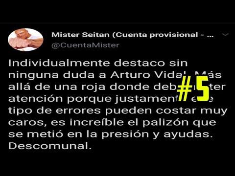 MISTER SEITAN ANALIZA EL PARTIDO DE FC BARCELONA VS NAPOLES EN TWITTER | DESTACA A ARTUTO VIDAL| #5
