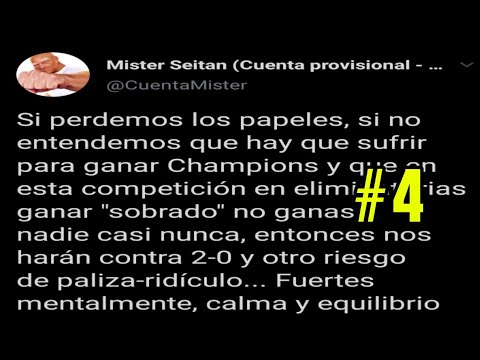 MISTER SEITAN ANALIZA LA PRIMERA PARTE DE FC BARCELONA VS NAPOLES EN TWITTER | #4