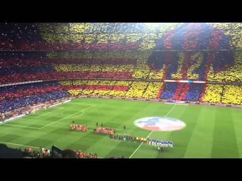 El cant del Barca, El Classico, Camp Nou, 03/2015