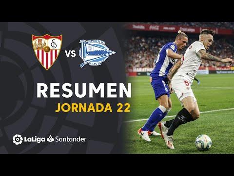 Resumen de Sevilla FC vs Deportivo Alavés (1-1)