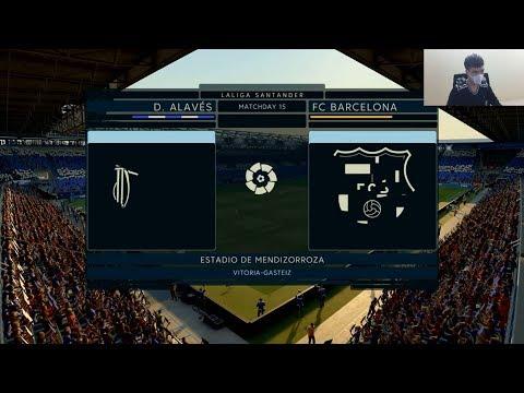 Fifa 20 Gameplay – Barcelona vs Alaves