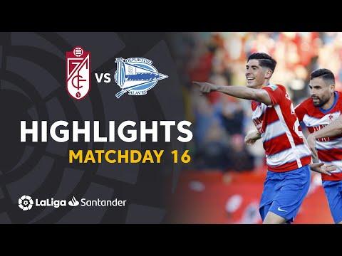Highlights Granada CF vs Deportivo Alaves (3-0)