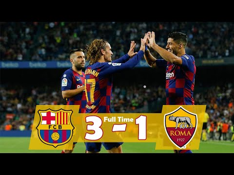Barcelona 3 vs 1 Roma tickets || Best dream league game 2020