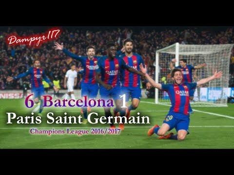 Barcellona – PSG 6-1 (PIERLUIGI PARDO) THE MOVIE