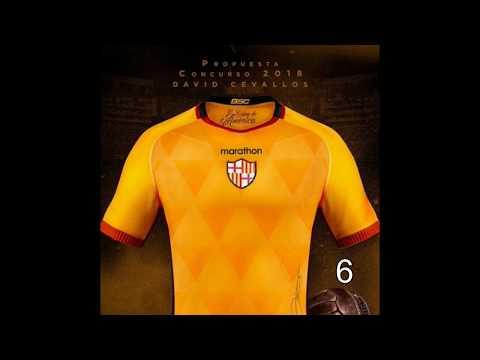 Propuesta Camisetas 2018 Barcelona Sporting Club