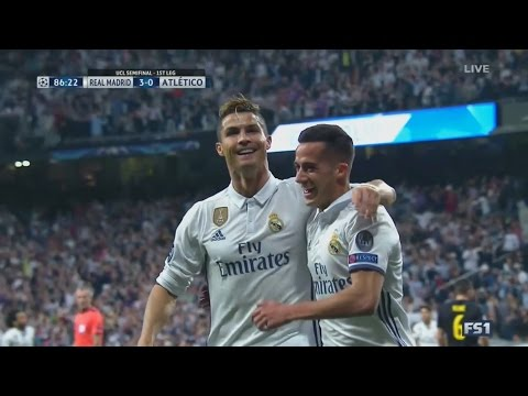 Cristiano Ronaldo vs Atletico Madrid HD 1080i Home (02/05/2017)