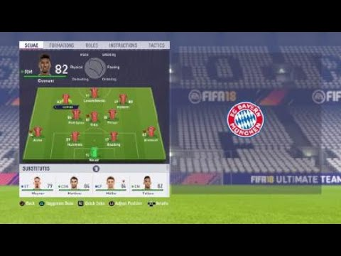 *NEW UPDATE* FIFA 18 Bayern Munchen review – Best formation, Best tactics and instructions