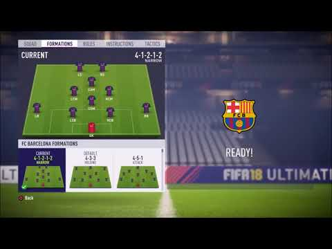 *WINTER TRANSFER UPDATE* FIFA 18 FC Barcelona review – Best formation, Best tactics and instructions