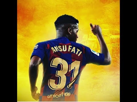 ANSU FATI;  SIMPLY THE BEST AT 16th OF AGE BARCELONA