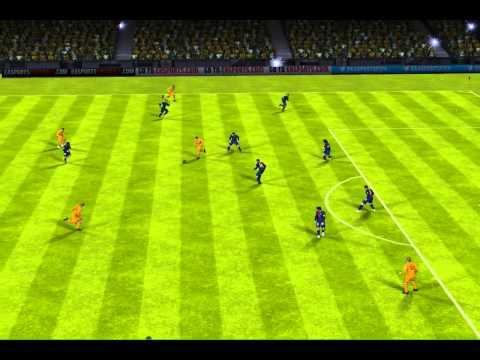 FIFA 13 iPhone/iPad – age fc vs. FC Barcelona