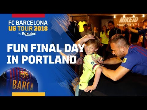 INSIDE TOUR #3 | American fans show love of Barça