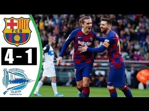 Barcelona vs Alaves 4-1 – All Goals & Highlights – 21/12/2019