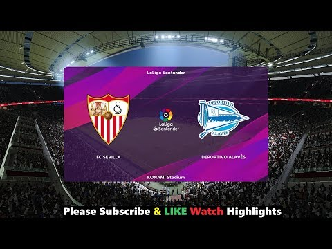 Sevilla vs Alaves – LineUps   La Liga 2019/20