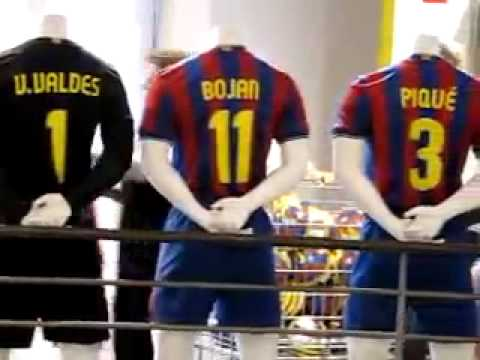 FC Barcelona shirts ( with all players )
