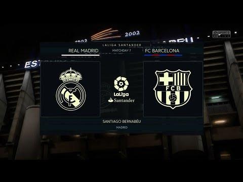 [FIFA 18] GAMEPLAY – REAL MADRID VS FC BARCELONA
