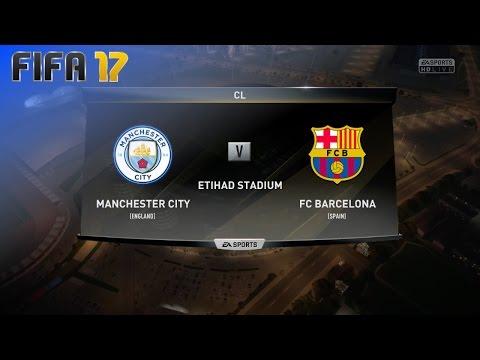 FIFA 17 – Manchester City vs. FC Barcelona @ Etihad Stadium