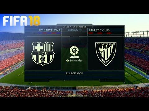 FIFA 18 – FC Barcelona vs. Athletic de Bilbao @ El Libertador
