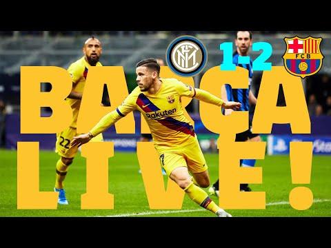 ⚽ Inter 1 – Barça 2 | BARÇA LIVE: Match Center #InterBarça