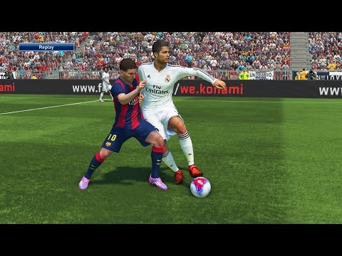 PES 2015 GAMEPLAY | El Clasico: Real Madrid – FC Barcelona | PS4 Demo Gameplay HD 1080p