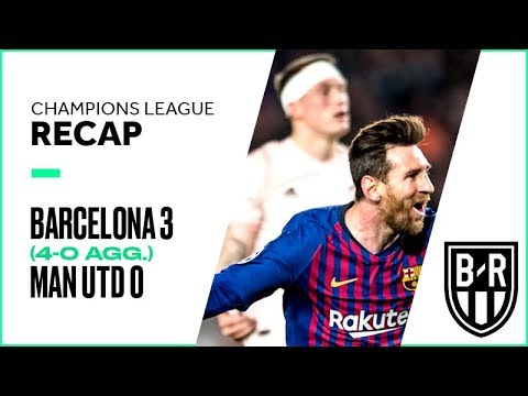 Barcelona 3-0 Manchester United (4-0 agg.): Champions League Recap with Highlights and Goals