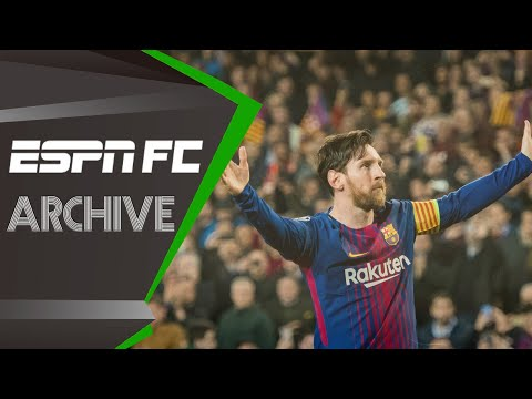 Lionel Messi reaches 100 Champions League goals in Barca's win over Chelsea (2018) | FC Archive