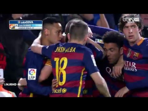 Barcelona vs Celta Vigo 6-1 All Goals 14-2-2016 HD
