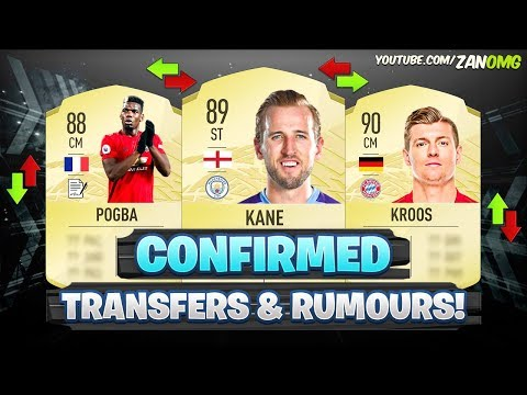 FIFA 21 | NEW CONFIRMED TRANSFERS & RUMOURS!! ✅🔥 | FT. KANE, POGBA, KROOS…