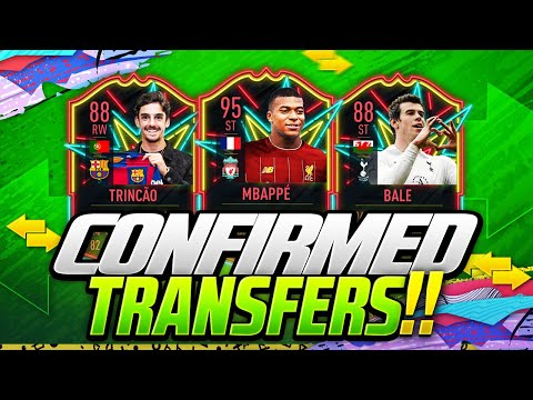 FIFA 20 | NEW CONFIRMED JANUARY 2020 TRANSFERS & RUMOURS | w/ TRINCAO BARCA, BALE & MBAPPE LIVERPOOL