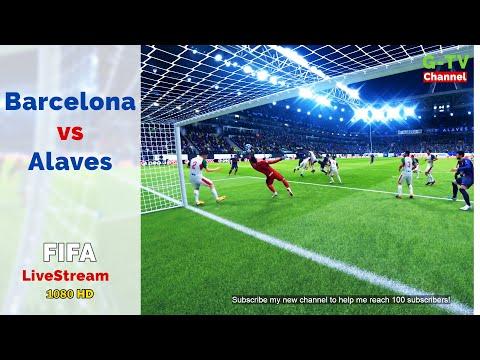 Barcelona Vs Alaves   Legendary Level   FIFA PC Game