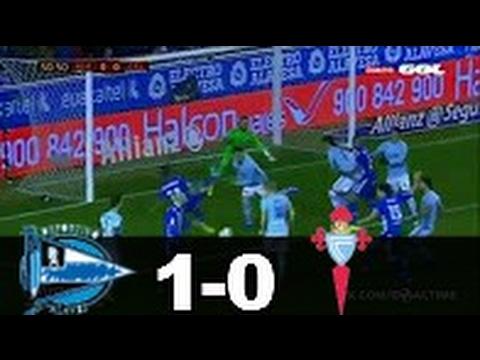 Alavés vs Celta (1-0) RESUMEN & GOLES 08/02/17 – Copa del Rey HD