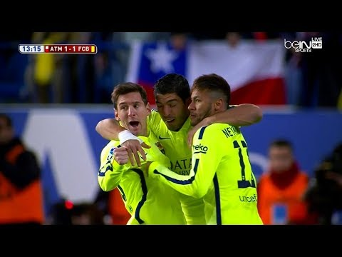 Lionel Messi vs Atletico Madrid (CDR) (Away) 2014-15 English Commentary HD 720p