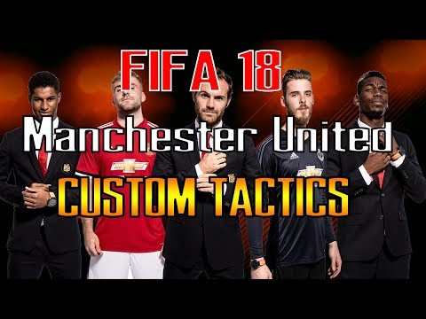 FIFA 18 HOW TO ALWAYS WIN WITH MANCHESTER UNITED | BEST FORMATION AND TACTICS