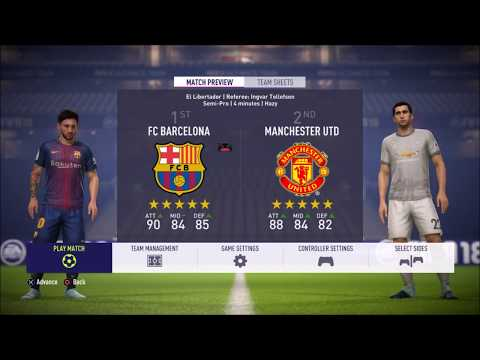FIFA 18 Tactics – Johan Cruyff's Barcelona.