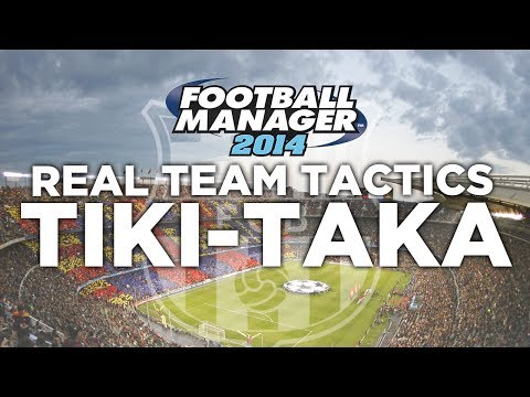 Real Team Tactics Ep.1 – Barcelona Tiki-Taka | Football Manager 2014