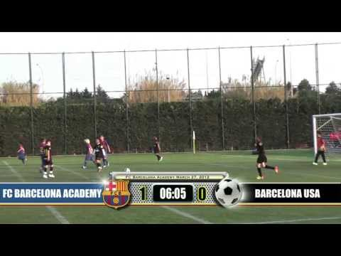 Q1 FC Barcelona Academy Benjamin A vs. California State U10 Champion (part 1 of 4)