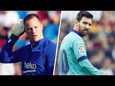 The reason why Lionel Messi clashed with Marc-André ter Stegen in training | Oh My Goal
